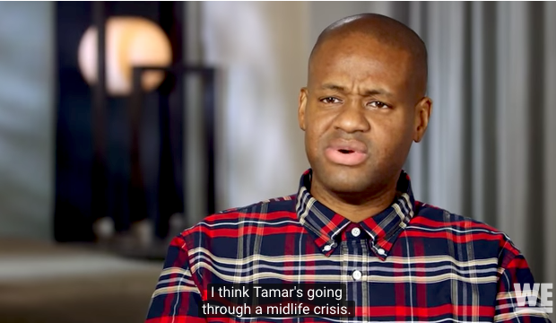 Tamar Braxton Going Through Midlife Crisis, According To Husband Vince Herbert