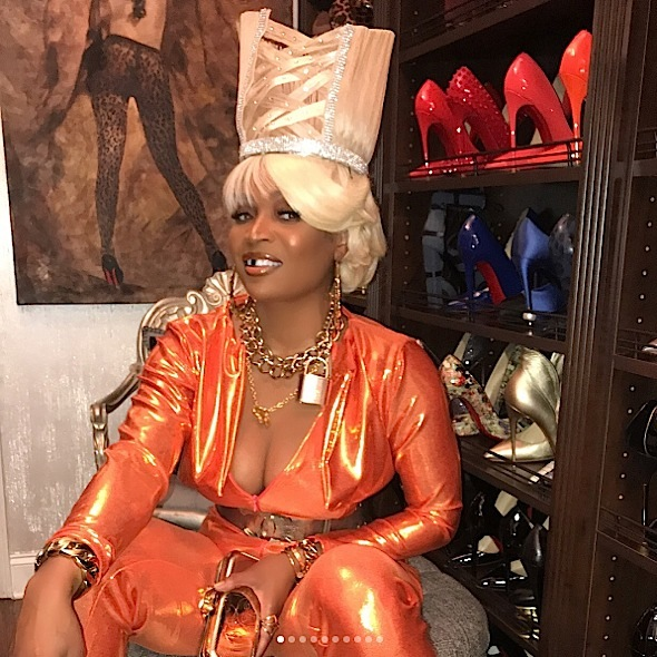 Rhoa Halloween Bash Porsha Williams Cynthia Bailey