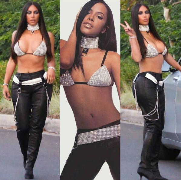Halloween Pics! Nas Channels Richard Pryor, Kevin Hart's Wife Dressed As Ciara, Kim Kardashian Transforms Into Aaliyah, Madonna & Cher + Cam Newton