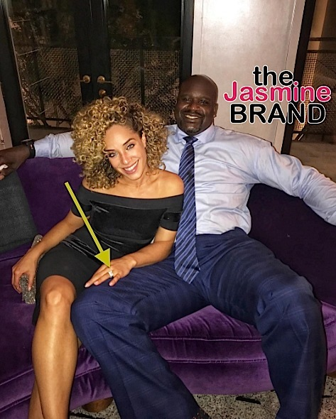 Shaquille O'Neal Sparks Engagement Rumors [Photos]
