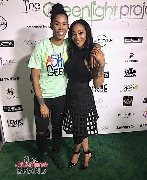 Angela Simmons, Mimi Faust & Girlfriend Tamera Young Spotted At Dai Moda Fashion Show
