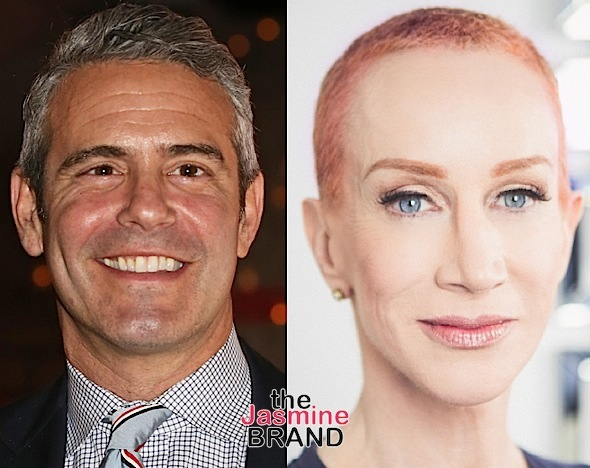 Andy Cohen Denies Offering Kathy Griffin Cocaine