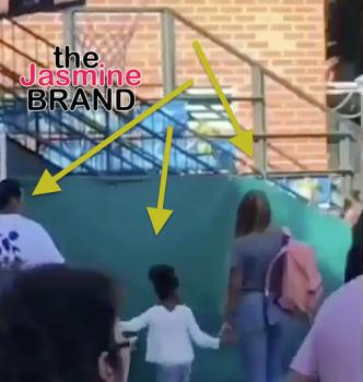 Cute! Beyonce & Jay-Z Drop Blue Ivy Off For School [VIDEO]
