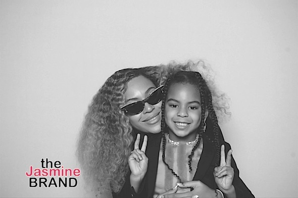 "Beyoncé Compares Her 7-Year-Old Self To Blue Ivy: ""My baby is growing up!"""