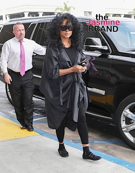 Diana Ross Says TSA Treated Her Like Sh*t: It Makes Me Want To Cry!