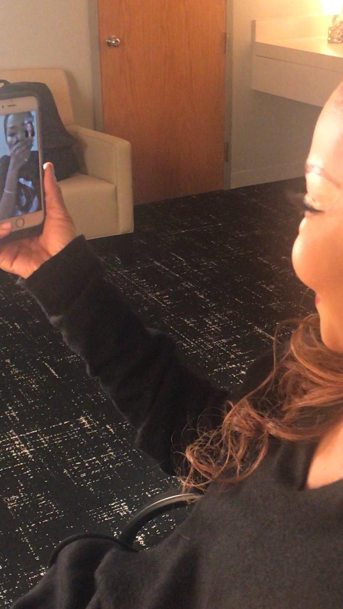 Teyana Taylor Meets Idol Janet Jackson
