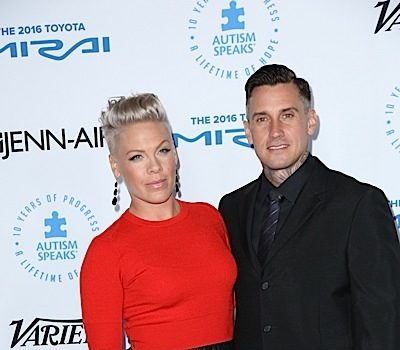 Singer Pink Didn't Have Sex With Her Husband For A Year
