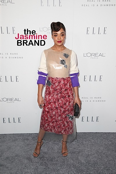Tessa Thompson Challenges Hollywood To Hire More Female Directors & People of Color – Celebs Respond