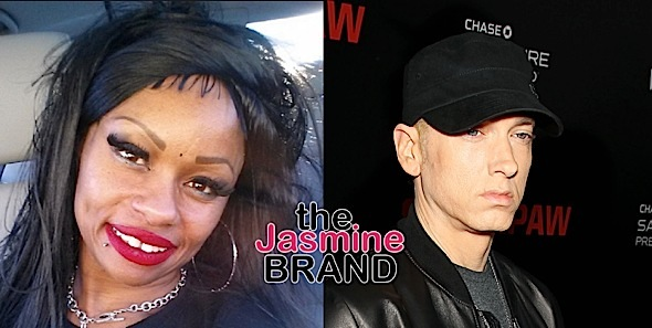 Blac Chyna's Mom Trashes Eminem: You're a f*cking white boy!