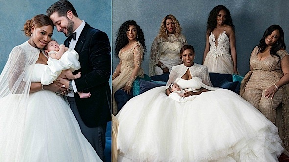 Serena Williams Wedding Photos!