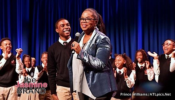 Oprah Donates $5 Million to Middle School [Photos]