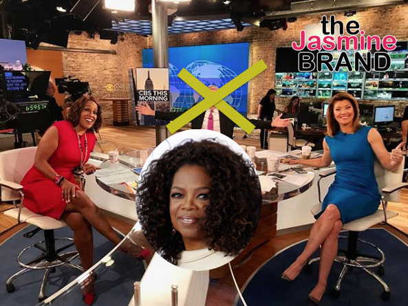 Oprah - 'CBS This Morning' Wants Her To Replace Charlie Rose