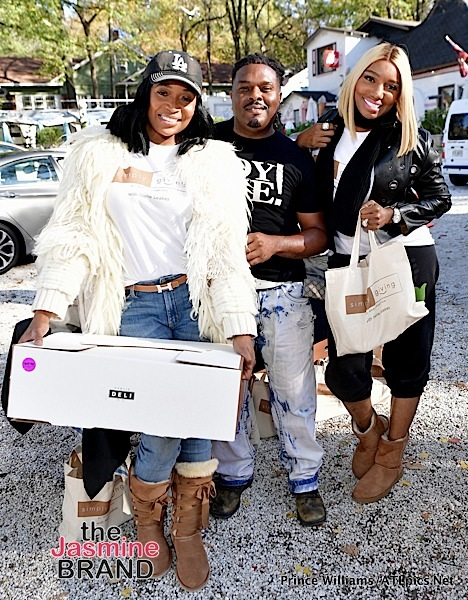 NeNe Leakes & Marlo Hampton Give Thanksgiving Dinners To Deserving Families [Spotted. Stalked. Scene.]