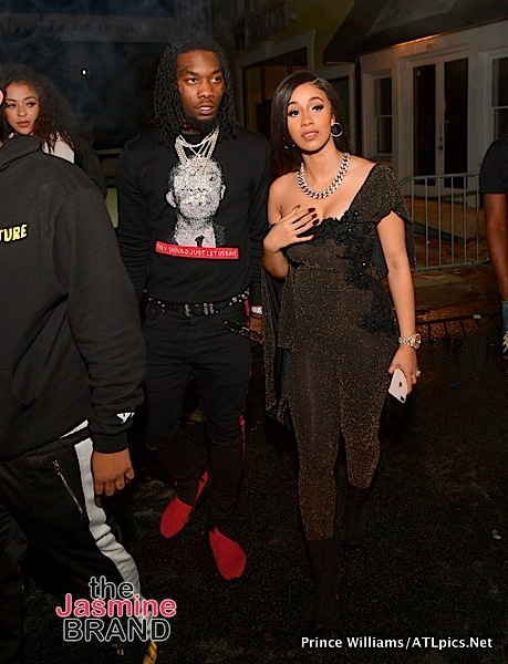Cardi B Defends Staying w/ Offset After He Cheated: I could get any man I want — any basketball player, football player.