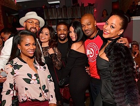 Keshia Knight-Pulliam, Malaysia Pargo, Scrappy & Bambi, Kandi Burruss Spotted At Dinner Party [Celebrity Stalking]