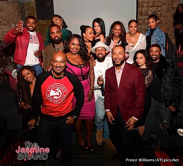 Keshia Knight-Pulliam, Malaysia Pargo, Scrappy & Bambi, Kandi Burruss Spotted At Dinner Party