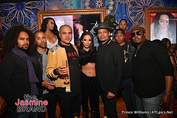 Irv Gotti, Arianne Davis, Erica Mena & Mario Van Peebles Party in ATL [Celebrity Stalking]