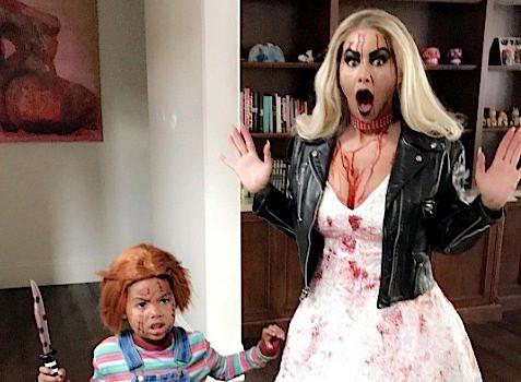 Celebrity Halloween Pics: Sean 'Diddy' Combs, Kim Kardashian, Remy Ma, Stevie Wonder, Rita Ora, JR Smith, LL Cool J, Dream Kardashian, Kim Porter
