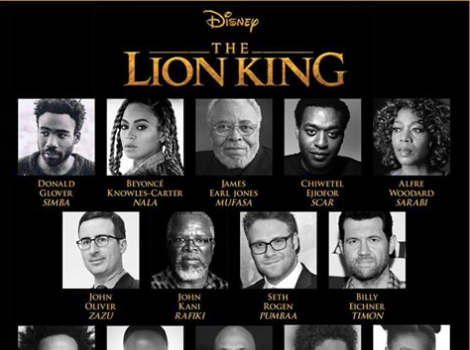 "Beyonce Joins ""The Lion King"" Remake, Full Cast Revealed"