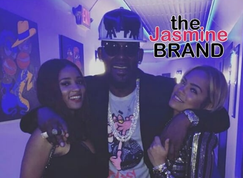 R.Kelly Shows Up To Party w/ Joceyln Savage, Woman Whose Family Claims Singer Holding Her Hostage