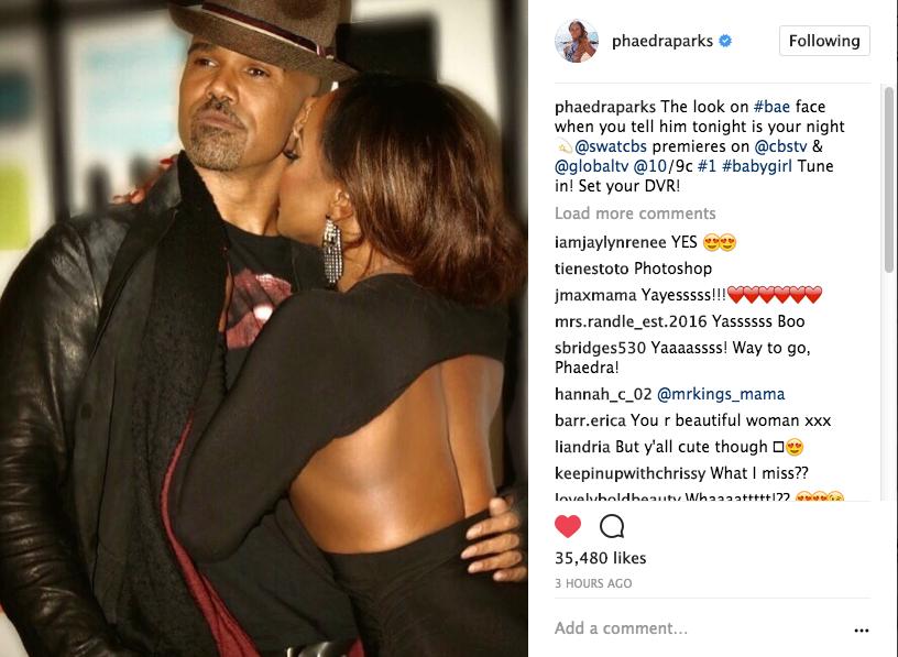 Phaedra Parks Dating Shemar Moore