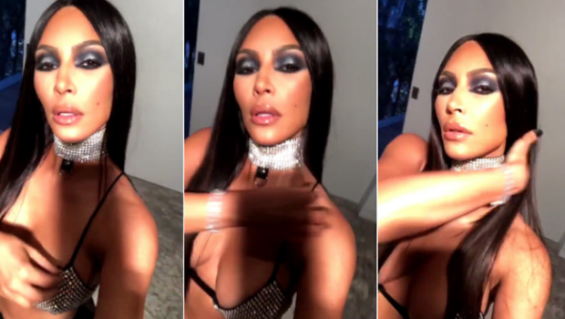 Kim Kardashian Apologizes For Aaliyah Costume: We don't see color in my home.