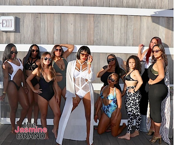 LeToya Luckett Hits South Beach For Bachelorette Bash + Joe Budden & Cyn Santana's Adorbs Baby Shower!