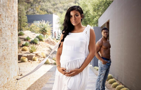 Kevin Hart: My Wife Is The Strongest Woman On The Planet! [Photos]