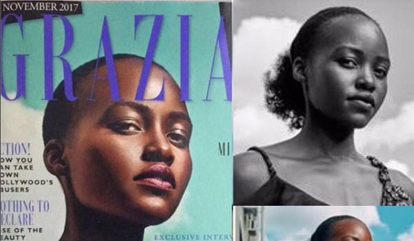 Lupita Nyong'o Trashes Mag: You Edited My Kinky Hair To Look Straight!