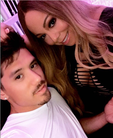 Mariah Carey Allegedly Paying Boyfriend 12k Per Week, Back-Up Dancer Now Running Her Career