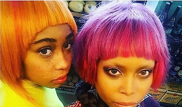 Erykah Badu & Daughter Puma KILL New Shoot