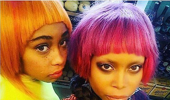 Erykah Badu & Daughter Puma KILL New Shoot