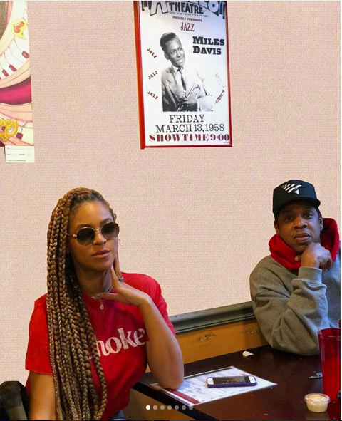 Beyonce & Jay-Z Visit NOLA & Houston On Tour