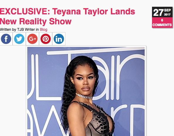 Teyana Taylor & Iman Shumpert Tease New Reality Show