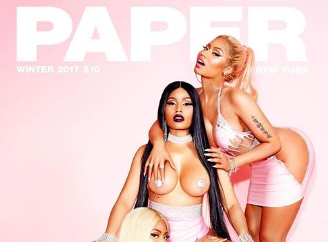 Nicki Minaj Wears Pasties, Has Minaj A Trois w/ Herself + Ex Safaree Reacts