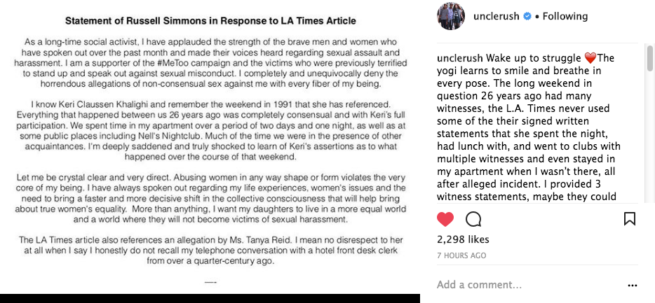 Russell Simmons Denies Coercing 17-Year-Old Model Into Oral Sex, Penetration w/o Consent