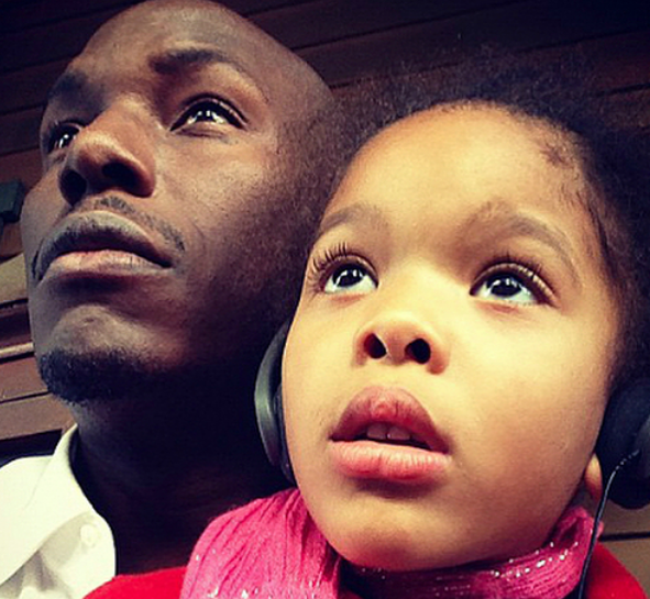 Tyrese Not Allowed To Spank Daughter