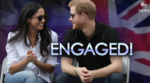 Prince Harry & Meghan Markle Are Engaged