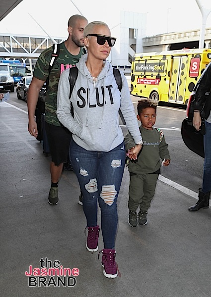 Kim Kardashian, Kris Jenner, Kerry Washington Hit LACMA's Bash + Amber Rose & Son Spotted At LAX [Spotted. Stalked. Scene.]