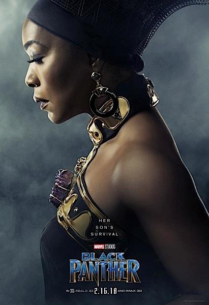 """""""Black Panther"""" Posters Released: Chadwick Boseman, Angela Bassett, Michael B. Jordan, Lupita Nyong'o"""