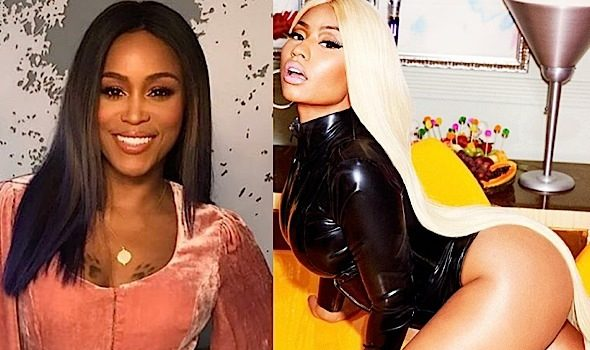 Eve Doesn't Approve of Nicki Minaj's Shoot: Its just not right.