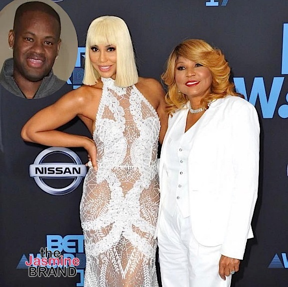Tamar Braxton's Mom Evelyn Braxton Accuses Vincent Herbert of Domestic Violence, He Denies Abuse Allegations
