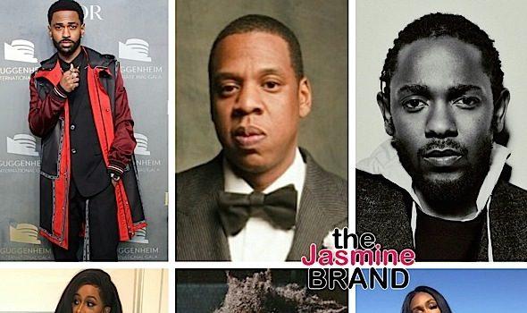 Grammy Nominations: Jay-Z, Kendrick Lamar, Cardi B, SZA, PJ Morton, Big Sean, Migos Land Noms + Complete List