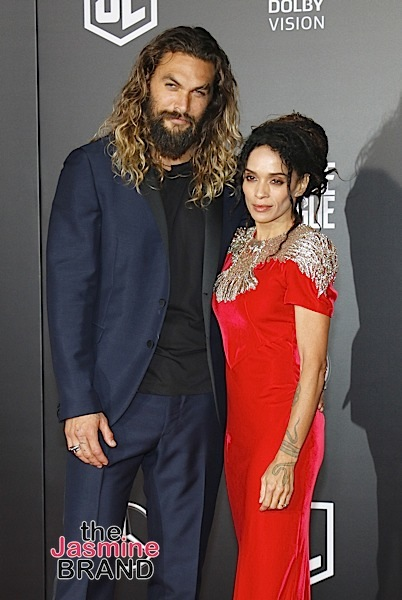 Jason Momoa Was 'A Mess' When He 1st Asked Out Wife Lisa Bonet + Admits 'I'm Absolutely Terrified Of Her'