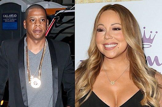 Mariah Carey Signing w/ Jay-Z's Roc Nation