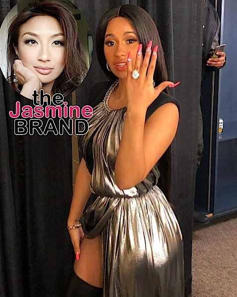 Cardi B Shouldn't Rush To Marry Fiance, According To The Real's Jeannie Mai