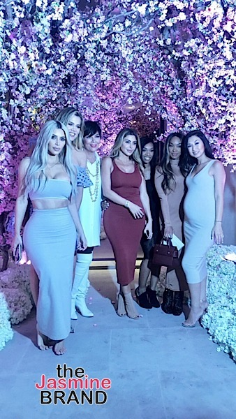 Kim Kardashian Throws Tea For 3 Baby Shower Kris Jenner Khloe