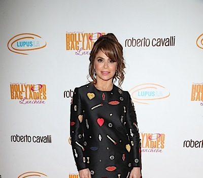 Paula Abdul Falls Off Stage During Performance [VIDEO]