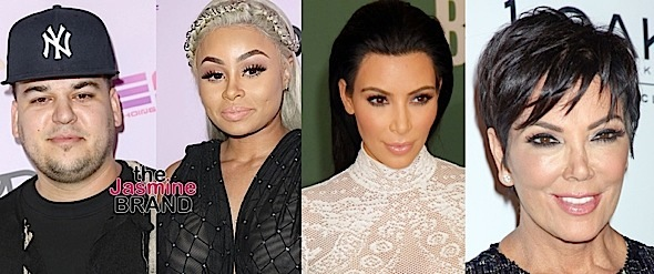 Kardashian's To Blac Chyna - Your Show Was Canceled Because You Got A Restraining Order On Rob Kardashian