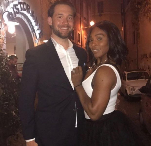 Serena Williams & Husband Alexis Ohanian Sr. Celebrate 1 Year Anniversary